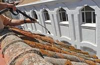 Limpieza de tejados
